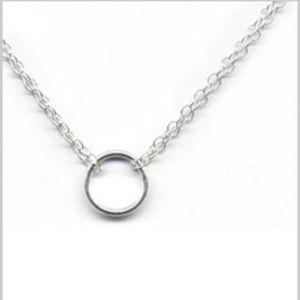 Adina Tiny Circle Necklace